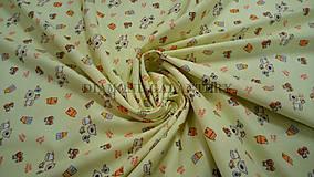 Textil - Úplet detský Farma - 5590757_