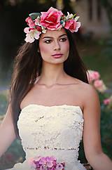 """Ozdoby do vlasov - Kvetinový venček """"Malá víla"""" - 5590719_"""