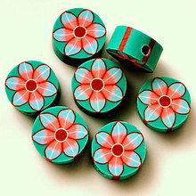 Korálky - FIMO 11mm-1ks (zelená) - 5589447_