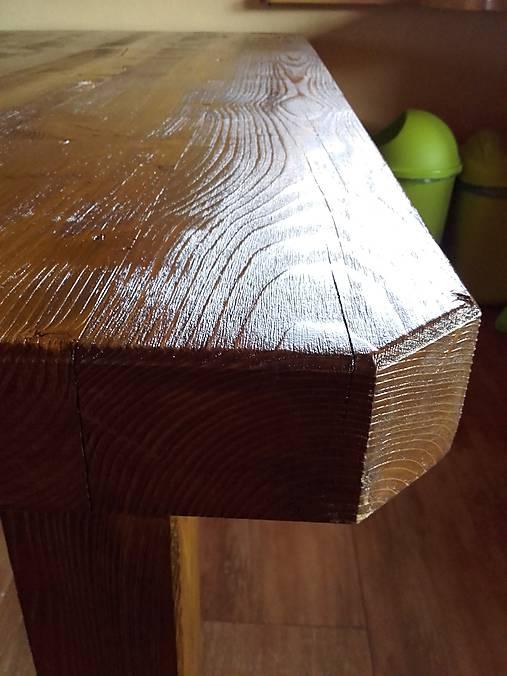 aac20b43b5ae Naozaj masívny stôl   hardclimber - SAShE.sk - Handmade Nábytok
