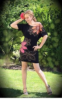 Šaty - Oranžový, ružový... - 5588702_