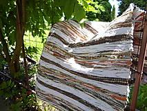 Koberec hnedý 170x73cm
