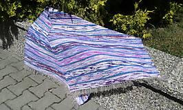 Úžitkový textil - Fialovo-fialový 144x73cm - 5589477_