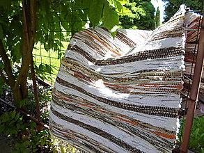 Úžitkový textil - Koberec hnedý 170x73cm - 5589266_