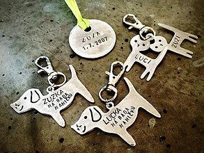 Kľúčenky - FAMILY PACK :) mix 2mm + 1mm / cena za všetko - 5593768_