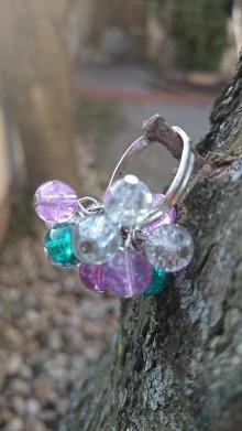 Prstene - Prstienok Zelenkavo-ružový - 5592027_