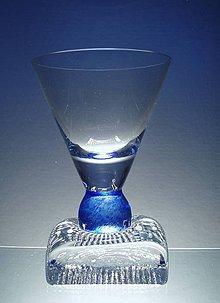 Nádoby - sklenka panáček na alkohol - 5592956_