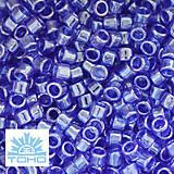 - TOHO rokajl (Treasure1,8mm) Trans-lustered cobalt - 5591616_