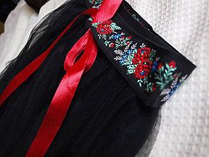 Sukne - Tutu sukňa s ľudovým motívom - 5593059_