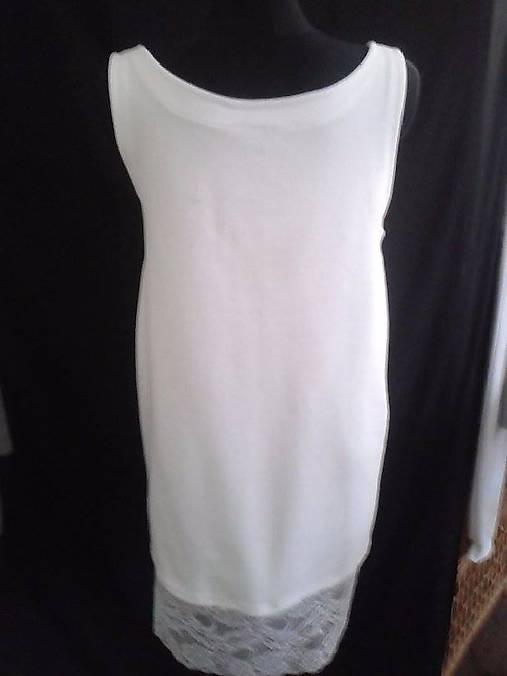 f2bd5abb01aa Biele letné bavlnené čipkované šaty s čipkou   amalka88sk - SAShE.sk ...