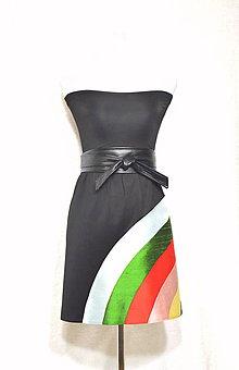 Šaty - Úpletové šaty s hodvábom-70%!!! - 5593867_