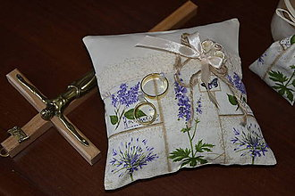 Prstene - Levanduľová svadba - 5591768_