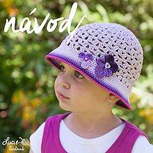 Návody a literatúra - NÁVOD č.61...na fialkový klobouček - 5596340_