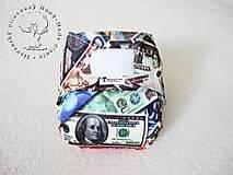save money & save planet - PUL Kapsová plienočka S-M-L + vkladačka