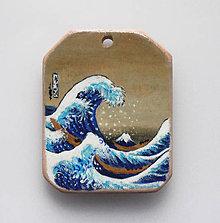 Náhrdelníky - Amulet - Kanagawa - 5597467_