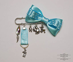 Detské doplnky - brošnička BLUE - 5599527_