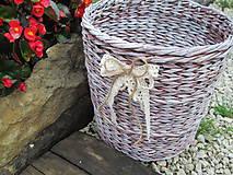 Košíky - Nie len kvetináč - 5601071_