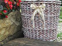 Košíky - Nie len kvetináč - 5601073_