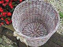 Košíky - Nie len kvetináč - 5601076_
