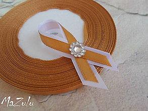 Pierka - medené svadobné pierko /malé/ - 5601361_