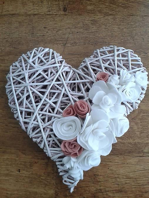 7393cd1ff Srdce ružové / Kristy23 - SAShE.sk - Handmade Dekorácie