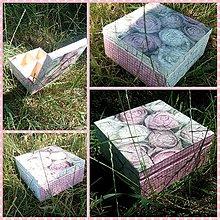 Drobnosti - Krabička ruží - IHNEĎ K ODBERU - 5600492_