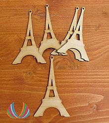 Polotovary - Drevená Eiffelovka, ihneď - 5601117_