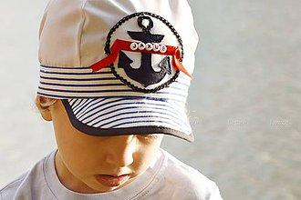 Detské čiapky - Plážovka  ADMIRÁL - 5602999_