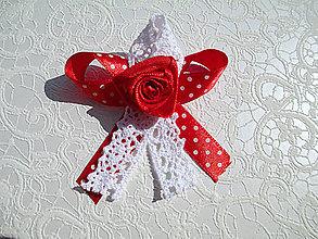 Pierka - svadobné pierko bodkované - 5604030_