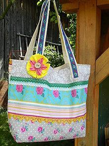 Veľké tašky - Taška - Farebné leto - 5603778_