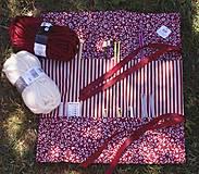 """Úžitkový textil - """"Oto"""" organizér na ihlice a háčiky - II. - 5605833_"""