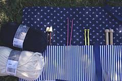 """Úžitkový textil - """"Oto"""" organizér na ihlice a háčiky - III. - 5605840_"""