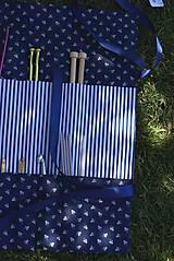 """Úžitkový textil - """"Oto"""" organizér na ihlice a háčiky - III. - 5605841_"""