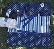 """Úžitkový textil - """"Oto"""" organizér na ihlice a háčiky - III. - 5605843_"""
