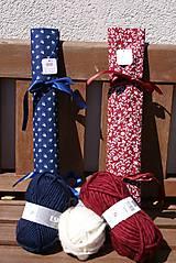 """Úžitkový textil - """"Oto"""" organizér na ihlice a háčiky - III. - 5605845_"""