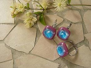 Sady šperkov - Azure in pink - 5605145_