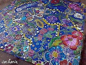 Šatky - Kvetinové snenie - 5605401_