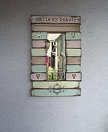Zrkadlá - Zrkadlo +vešiačiky 01 - 5608478_