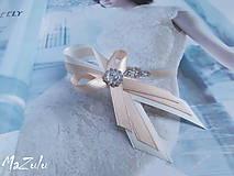 - svadobné pierka latte & ivory  - 5608193_