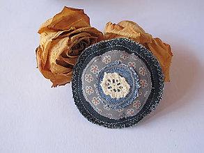 Sady šperkov - Brošňa- točí sa mi točí... - 5607917_