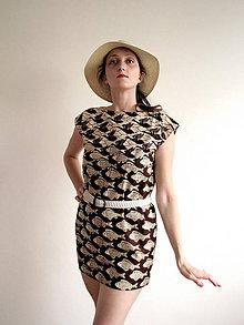 Šaty - Premena krotkých rybičiek na divé húsky - 5607443_