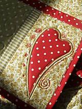 Úžitkový textil - Srdce k srdcu - prestieranie - 5609089_