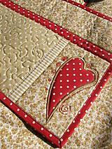 Úžitkový textil - Srdce k srdcu - prestieranie - 5609090_
