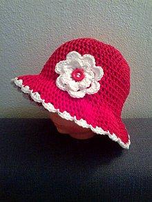 Detské čiapky - Pre červenú čiapočku..... - 5611670_