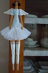 Bábiky - Modrá baletka - 5609336_