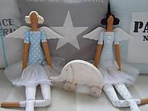 Bábiky - Modrá baletka - 5609337_