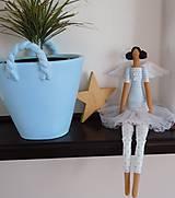 Bábiky - Modrá baletka - 5609338_
