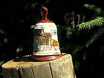 Dekorácie - Keramický zvonček - 5609440_