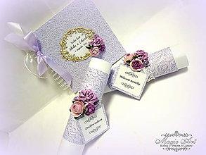 Papiernictvo - Svadobná kolekcia