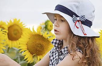 Detské čiapky - Svetlosivý klobúk s menom - 5612013_